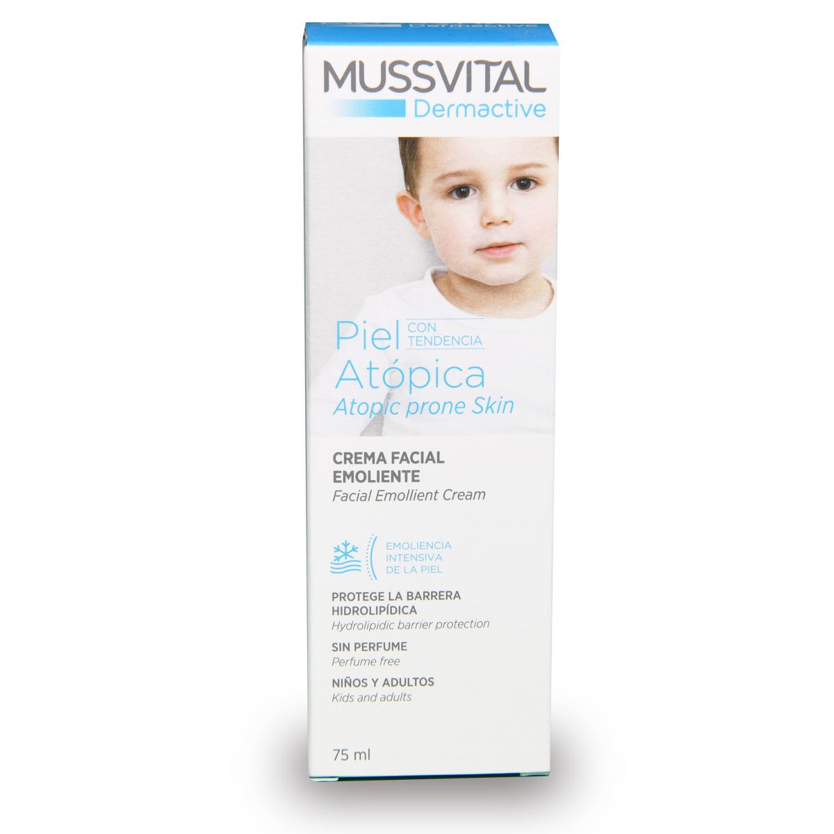 Mussvital Facial Emollient Cream - Atopic